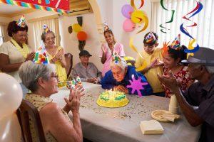 Rehabilitation facility Birthday Party
